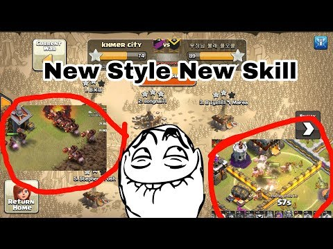 New Skill 21 Hoggy 15 Bowler 3Healer Impossible insane Dump Different Base Th11max