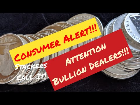 Bullion Dealers! Watch This Video! - Stackers! Buying Black Friday &  Cyber Monday? Silver Price Fun