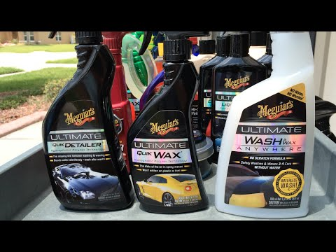 Ultimate Quik Wax - Ultimate Quik Detailer - Ultimate Wash & Wax Anywhere - How they differ!