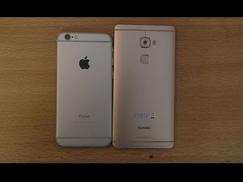 huawei mate 8 vs iphone plus
