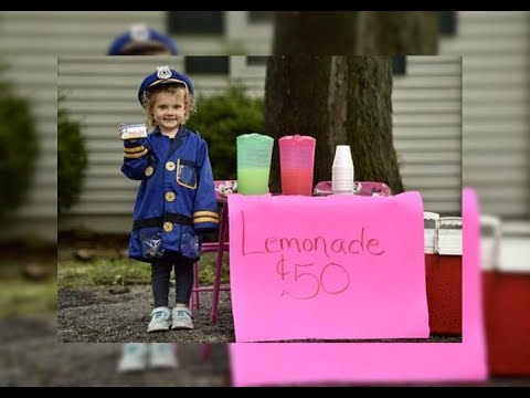 This Little Girl Was Selling Lemonade To Raise Money  Then S