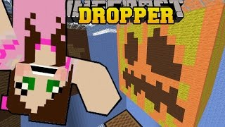 Minecraft: BLOCK LAND! - LIBRARY DROPPER - Custom Map [1] thumbnail