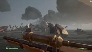 Sea of Thieves | Epic volcano eruption !