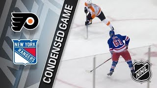 Philadelphia Flyers vs New York Rangers – Jan. 16, 2018 | Game Highlights | NHL 2017/18. Обзор матча