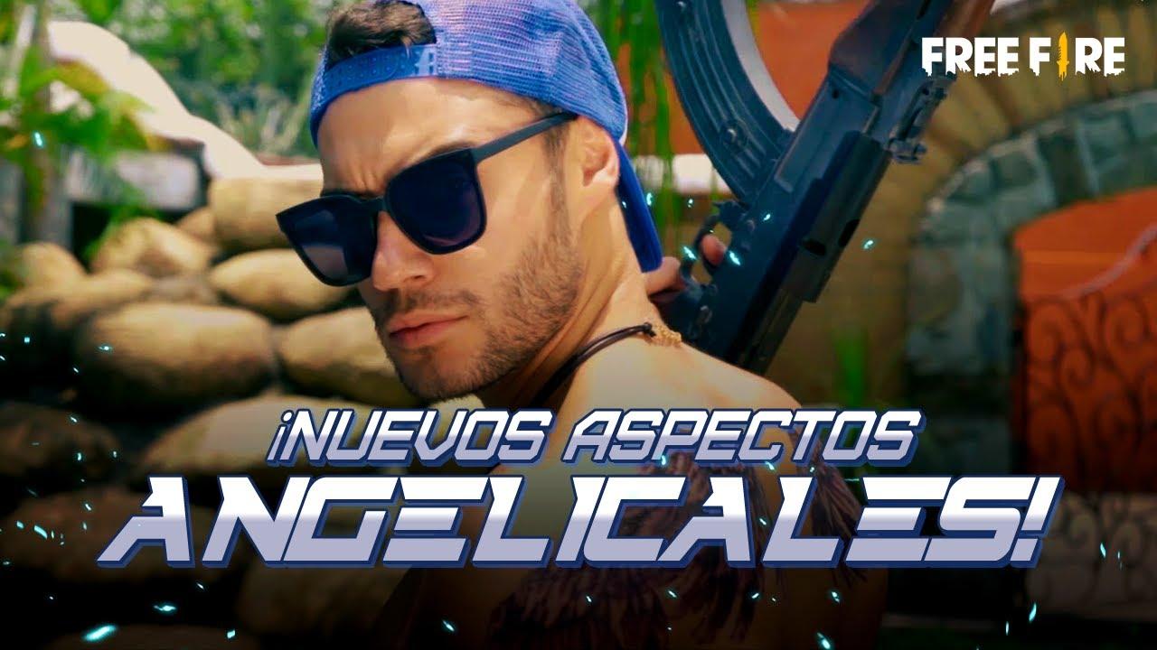 ¡NUEVOS ASPECTOS ANGELICALES! 👼☁ - Cosplay | Garena Free Fire