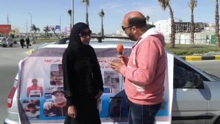 خلود محمد خطيبة الراحل إسلام ناصر بطل مصر في الدراجات مع حسام جبر