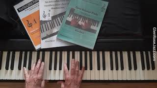 Chord Basics, Part Five - Visual recognition of major triads on the piano.