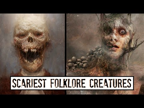 10 Disturbing Folklore Creatures from Around the World