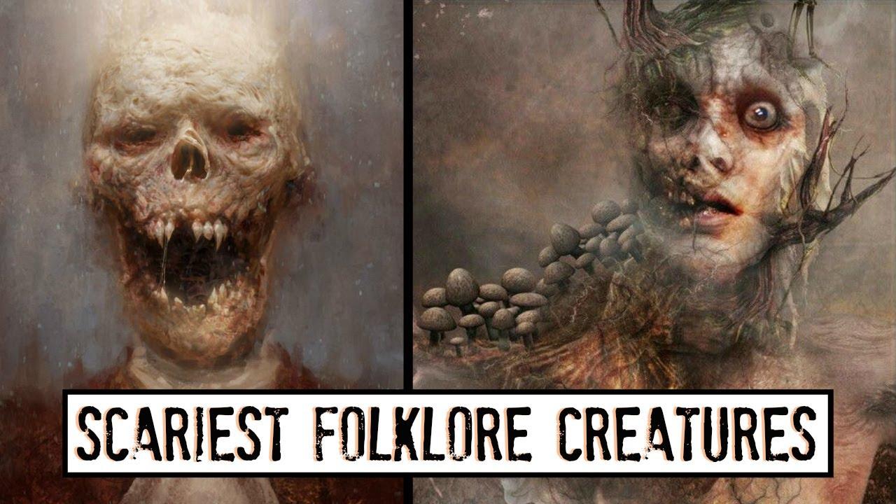 Download 10 Disturbing Folklore Creatures from Around the World