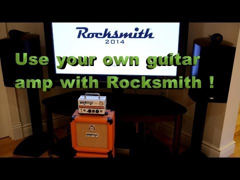 Use your own amp with Rocksmith !