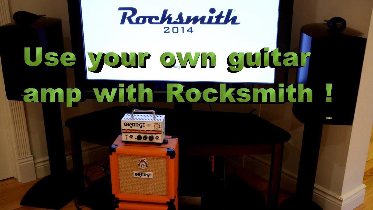 Hook up amp to rocksmith