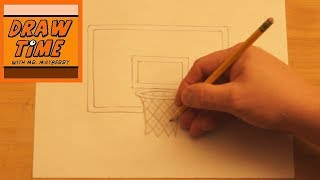 How to Draw a Basketball Goal