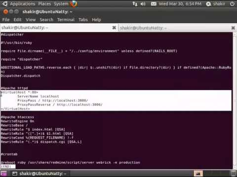 How to install Redmine on Ubuntu
