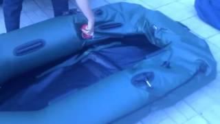 видео Электронасос для лодки ПВХ - краткий обзор электрических насосов и их цена