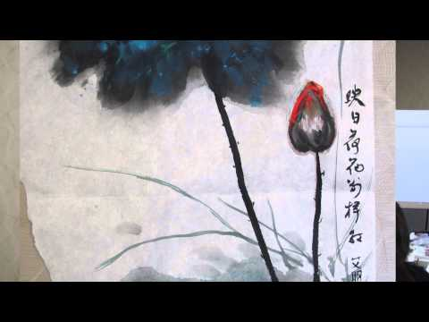 The Principle of Composition in Chinese Brush Painting a Liv