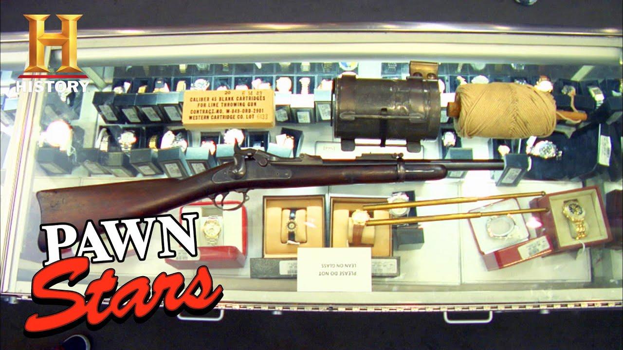 Pawn Stars: ILLEGAL Rope Gun Fires a SWEET Deal (Season 5) | History
