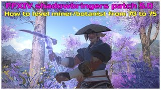 Ff14 shadowbringers collectables unlock quest