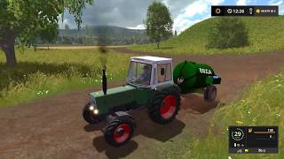 Farming Simulator 2017. СОВХОЗ ЗАРЯ. Трактор FENDT FARMER 102 S.