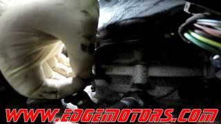Audi A4 A6 Q5 A5 Crankshaft Position / Engine Speed Sensor Replacement DIY by Edge Motors