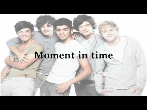 One Direction - Moments Lyrics And Pictures