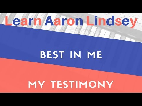 "Learn Aaron Lindsey Movements In ""Best In Me"" And ""My Testimony"" On The Piano"