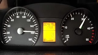 mercedes sprinter 313 cdi acceleration 0 100 top speed test