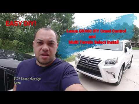 Lexus GX 460 Crawl Control & Multi Terrain Select DIY Install