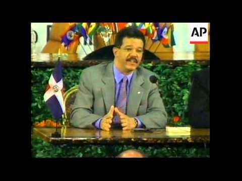 DOMINICAN REPUBLIC: CARIBBEAN NATIONS SUMMIT CLOSING CEREMONY