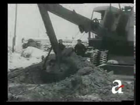 Первый тверской экскаватор - 1950 год
