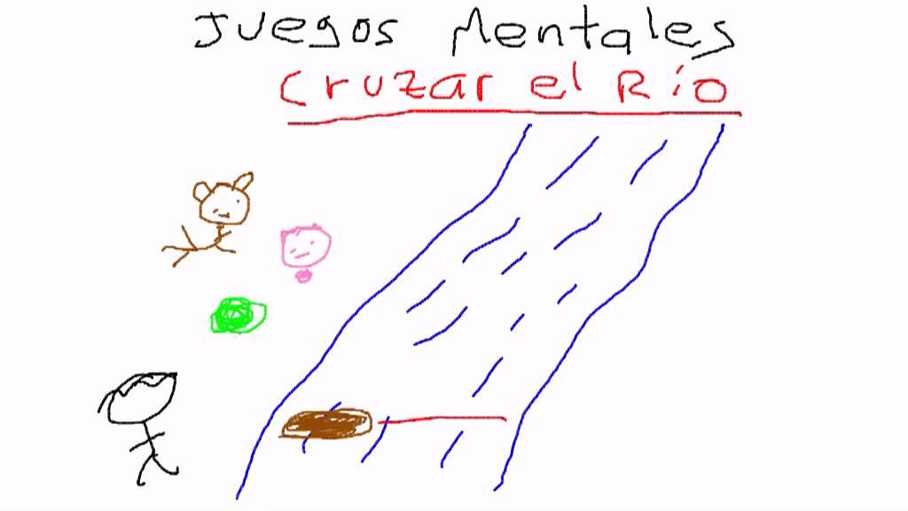 Juegos Mentales Cruzar El Rio Youtube