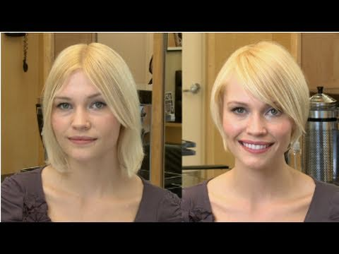 Get The Best Haircut And Style For A Square Shaped Face Youtube