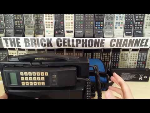 Vintage NEC Transportable Brick Phone For The Analog TACS System