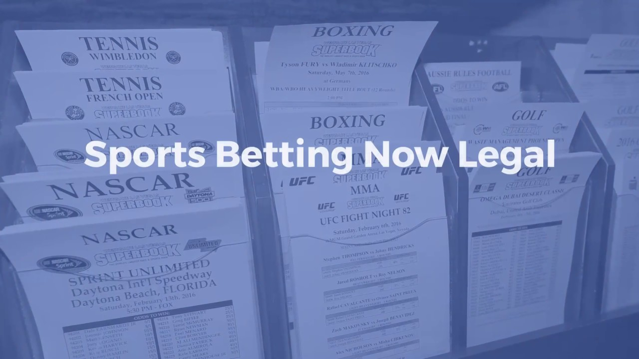 Sports Betting Now Legal in U.S
