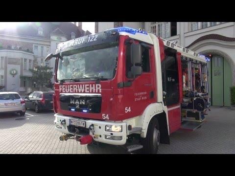 HLF BF Wien Feuerwache Mariahilf [Fahrzeugpräsentation]