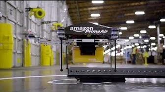 Liefern per Drohne: Amazon fliegt auf Großbritannien - economy