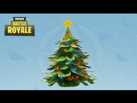 Fortnite Christmas Tree.Fortnite Christmas Tree Best Loot Spot