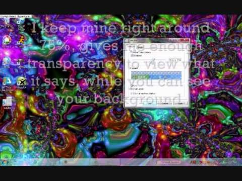 Make Your Windows 7 Taskbar Transparent!!! *HIGH QUALITY (HQ) VIDEO STEP BY STEP!*