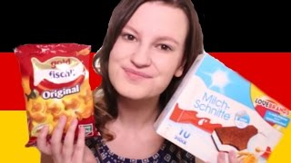 GERMAN FOOD TASTE TEST!