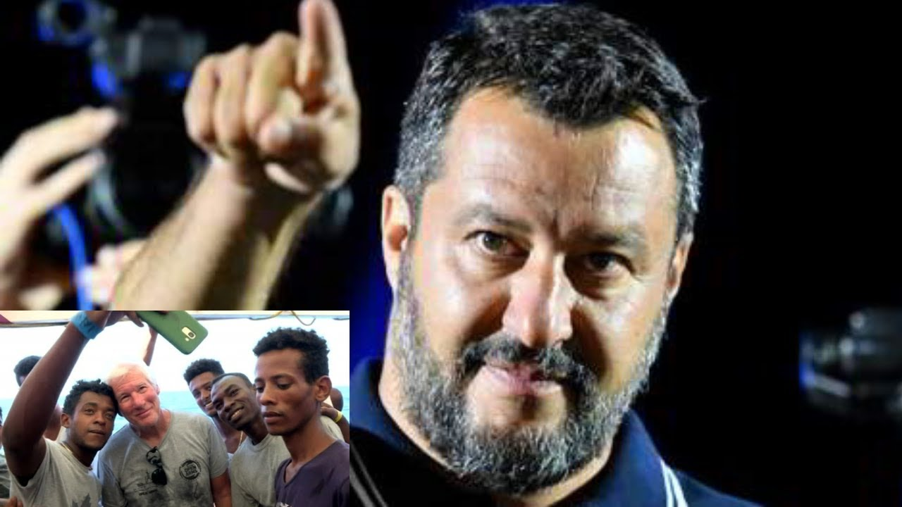 Dr. Steve Turley Salvini Rages at Hypocrite Gere: 'Take Migrants Back to Hollywood'!!!