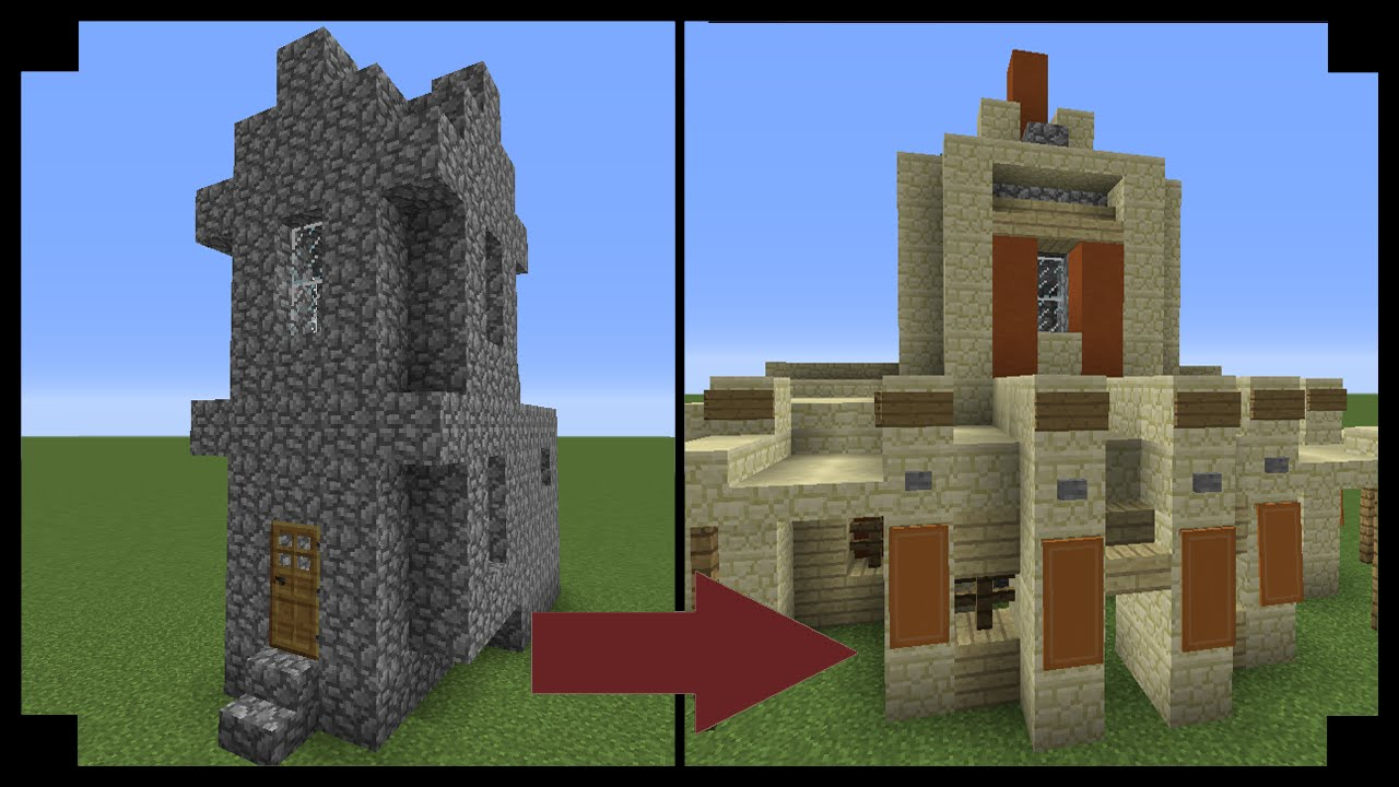 ✪Minecraft: How to upgrade a village church!