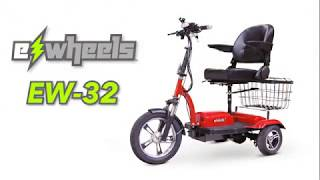 eWheels EW-32 Scooter Review Video