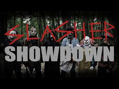 Slasher Showdown (Freddy Vs Jason Vs Michael Vs Leatherface Vs Ghostface Vs Pennywise)