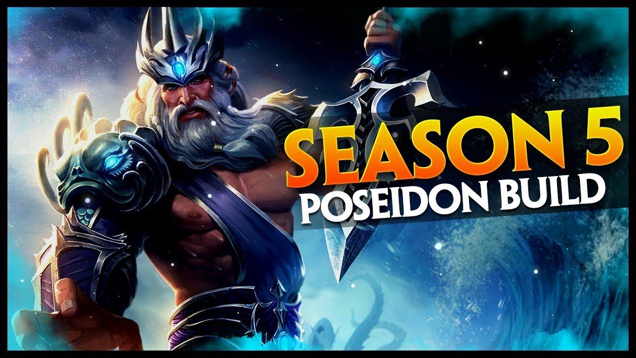 88 This Is The Best Poseidon Build Smite How To Build Poseidon