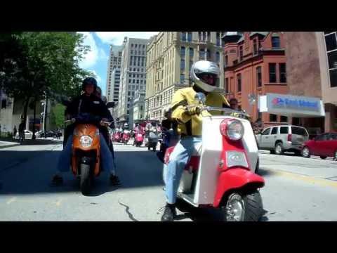 2016 Milwaukee Moto-Scoot Scooter rally