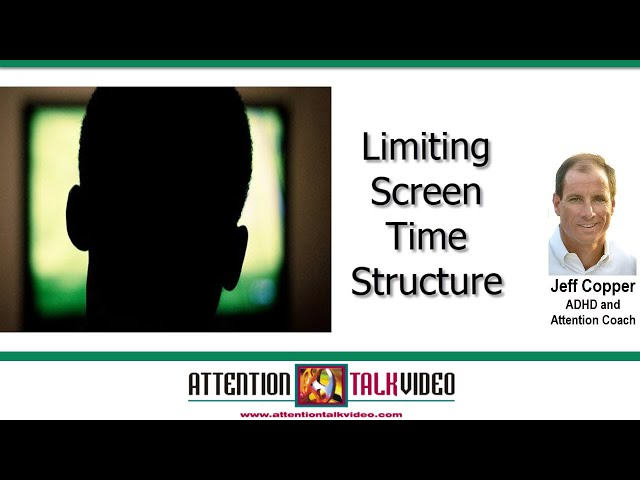 ADHD Tips: Managing Screen Time