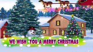 WE WISH YOU A MERRY CHRISTMAS Official Karaoke