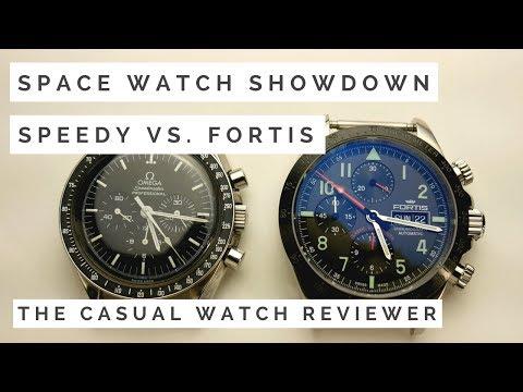 WHO WINS: Omega Speedmaster Vs. Fortis Cosmonaut - NASA vs. Roscosmos