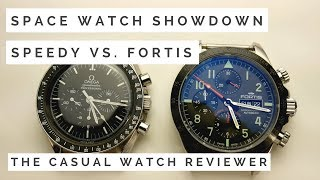 WHO WINS: Omega Speedmaster Vs. Fortis Cosmonaut - NASA vs. Roscosmos
