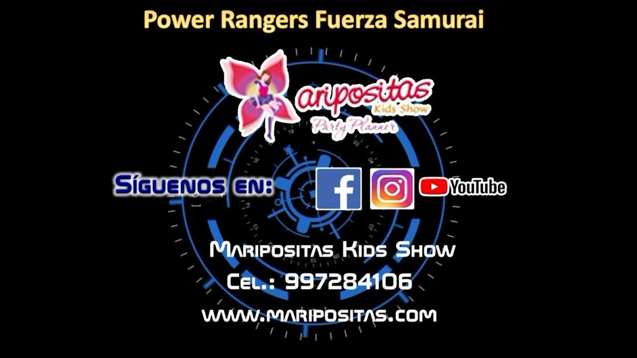 Show Infantil Power Rangers Fuerza Samurai