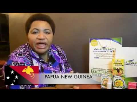 AIM Global Product Testimonial- Cancer Survivor from Papua New Guinea